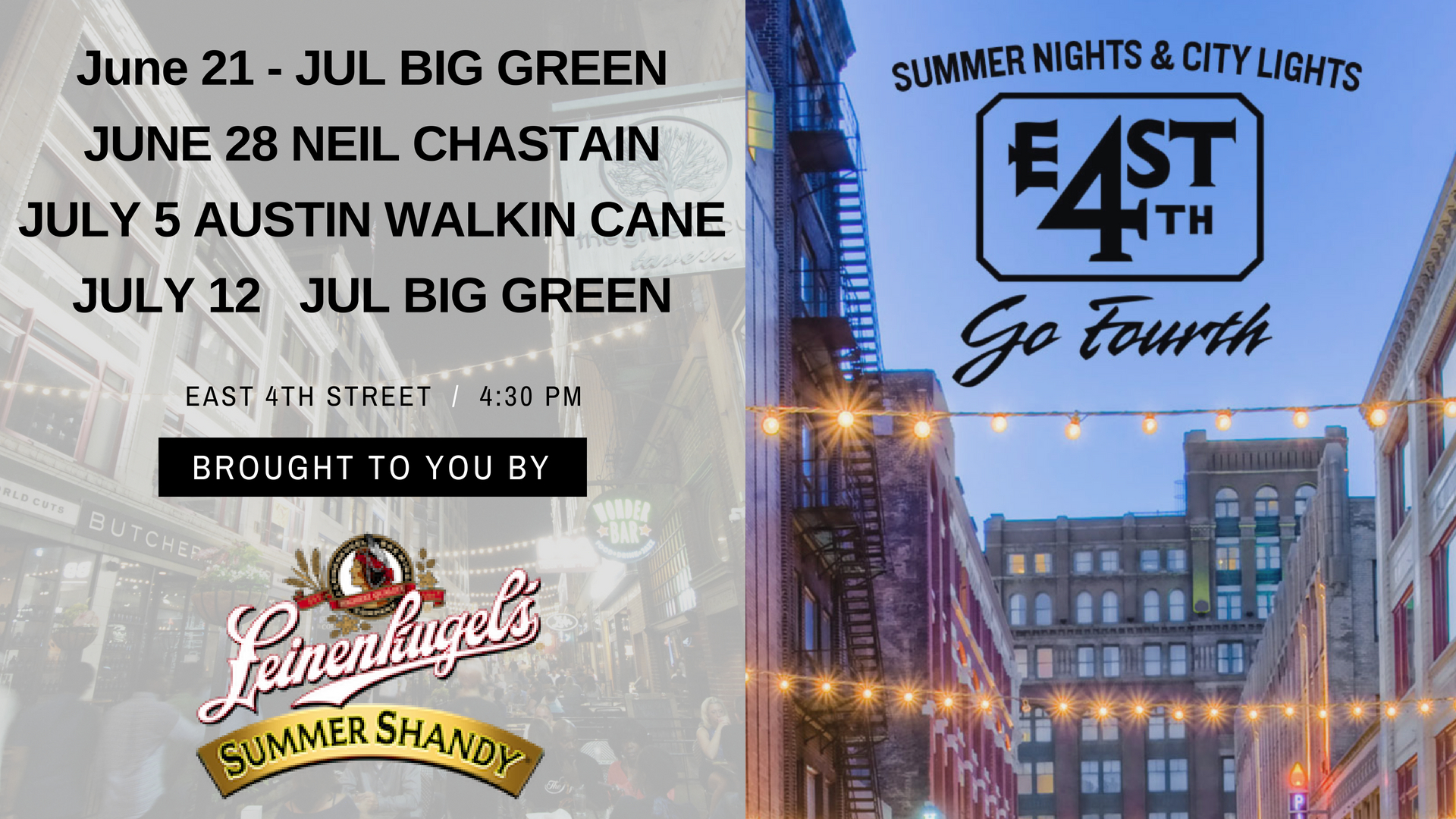 Thursday Nights On 4th St Just Got A Little Better Join Us For Live Music And Entertainment The Patios Hy Hour Specials From Some Of Your Favorite